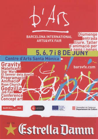 Postal Barcelona International Arts & VFX Fair